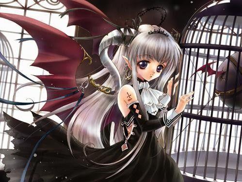 Manga Fille Gothique