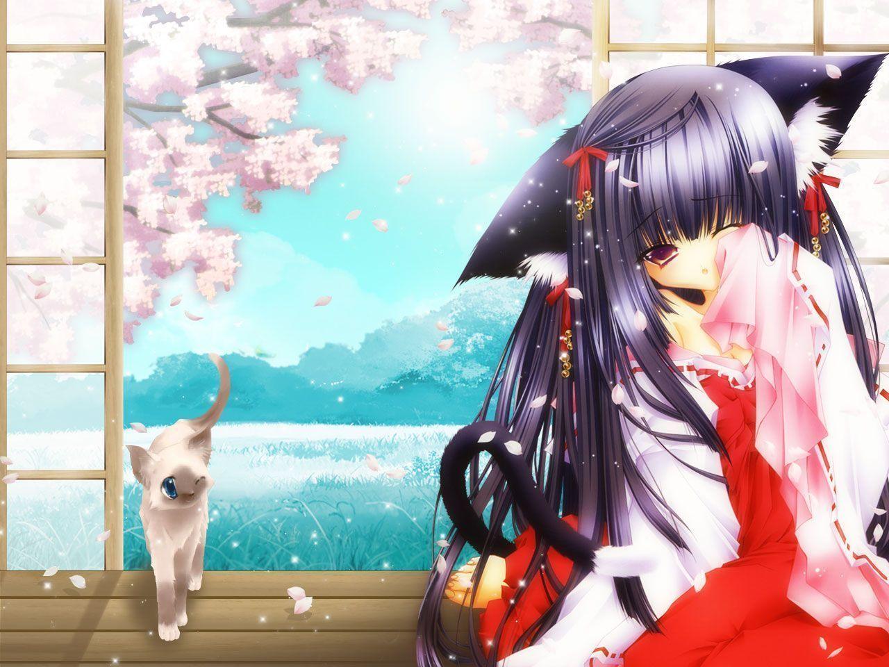 Manga fille chat - Femme chat manga ...